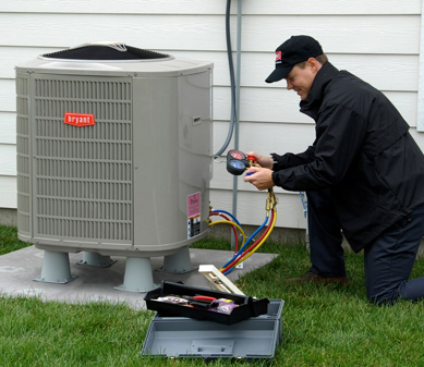 Ralph is one of our Castle Rock HVAC repair techs and he is currently fixing a Bryant unit